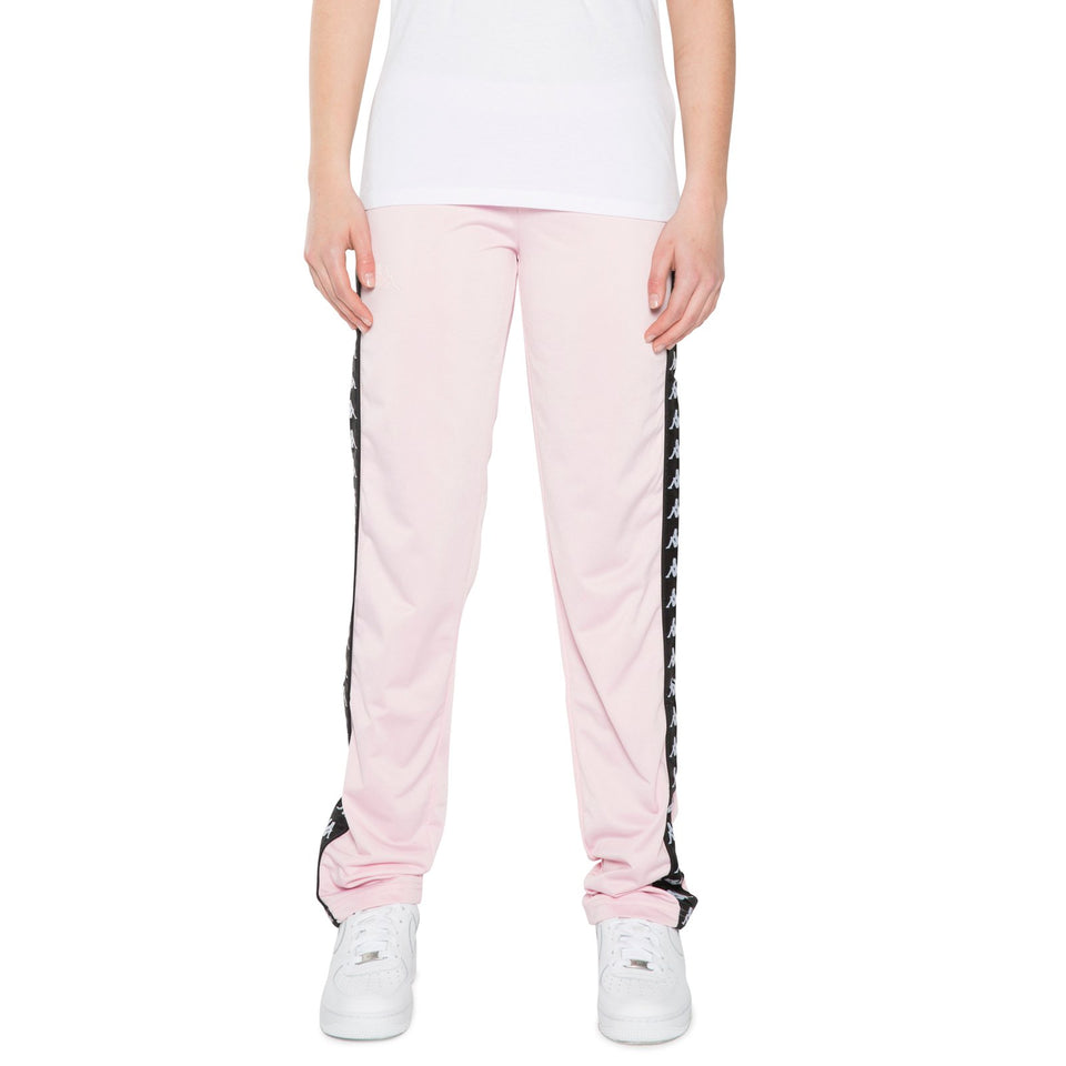 BANDA WASTORIA SLIM FIT WOMENS ATHLETIC PANTS COLOR PINK SOFT-BLACK