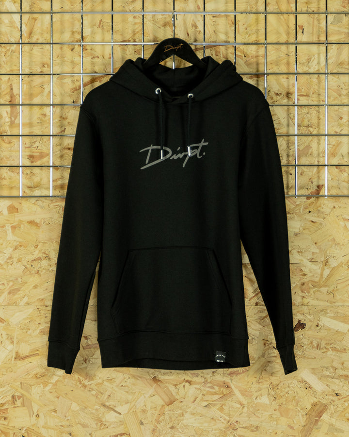 Black/Grey Big Signature Hoodie