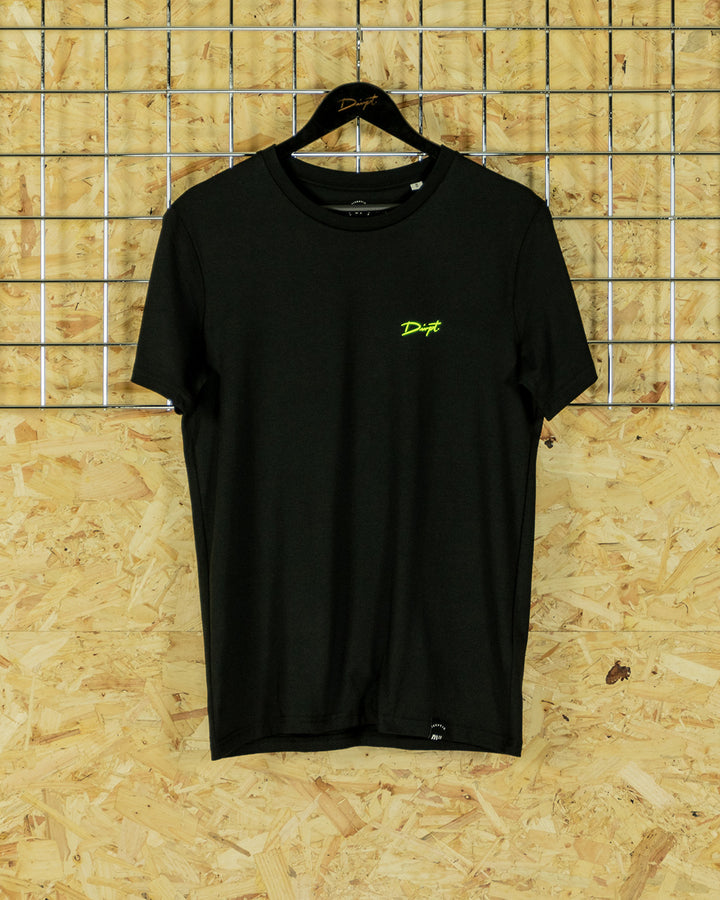Black/Neon Signature Crewneck