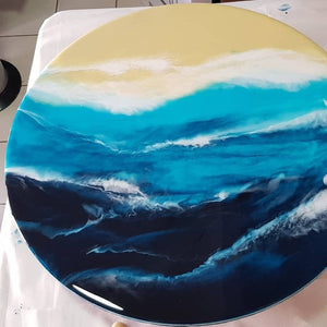 Beachscapes Resin Wall Art  Workshop (4 hours)
