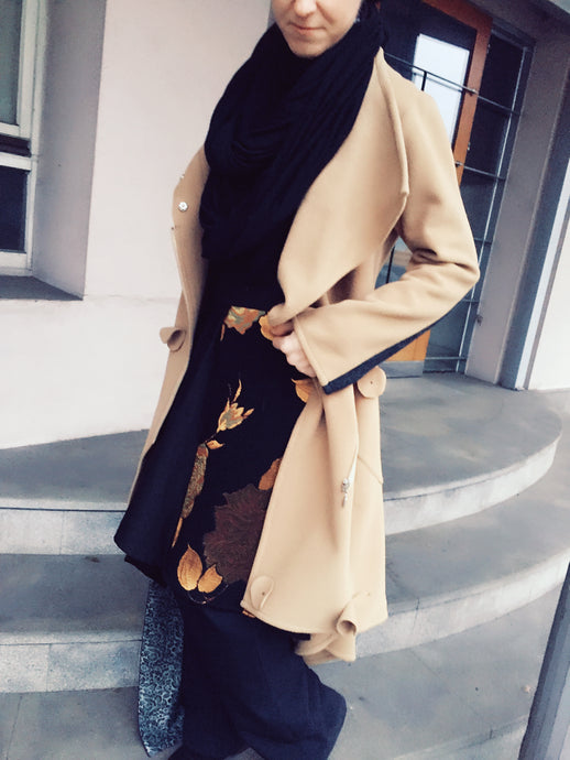 Kashmir wool coat
