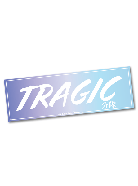Blue Gradient Sticker