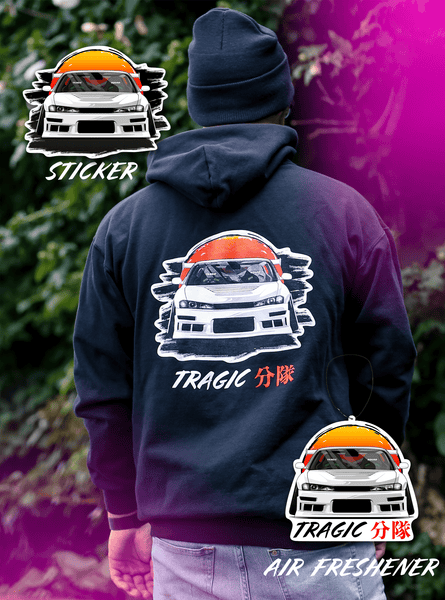 'Sayoko' Bundle - Hoodie, Air Freshener, Sticker