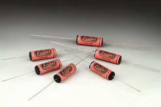Electrocube Type PM retro audio capacitors for classic and vintage sound, guitars and bass tone
