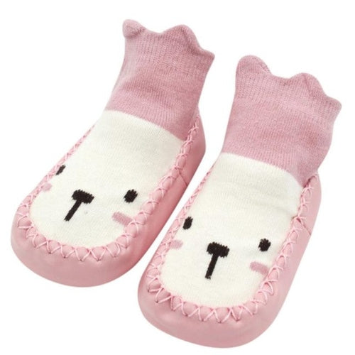 Cute Cartoon Newborn Baby Girls Boys Anti-Slip