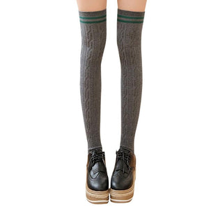 3 Colors Football Socks Soccer lacrosse Rugby Sport Knee High Socks Over The Knee #