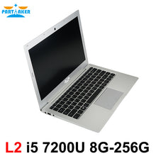 Load image into Gallery viewer, Partaker L2 13.3 Inch Windows 10 Laptop Computer Notebook Computer With Intel Core I5 7200U DDR4 Memory M.2 SSD