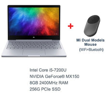 Load image into Gallery viewer, Original Xiaomi Mi Laptop Notebook Air Fingerprint Recognition Intel Core i5-7200U NVIDIA GeForce MX 13.3inch display Windows 10