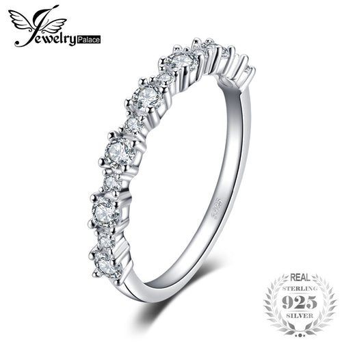 JewelryPalace 925 Sterling Silver Ring Wedding Band Engagement Ring Fashion Ring Fine Jewelry Women Jewelry On Sale New Arrival