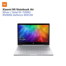 Load image into Gallery viewer, Xiaomi Mi Notebook Air 13.3 Win10 CN Version Intel Core I5-7200U Dual Core 2.5GHz 8GB RAM 256GB SSD Fingerprint Sensor Type-C