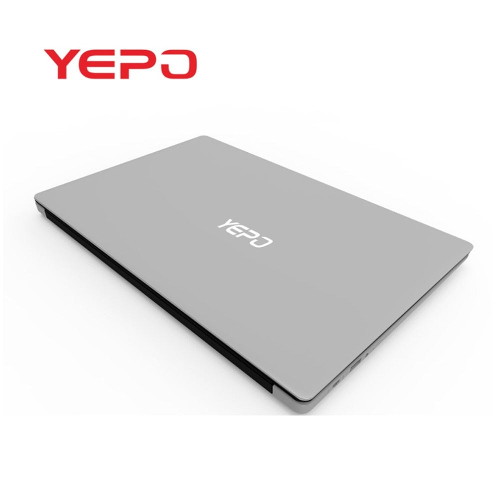 YEPO 737A6 15.6-Inch 1080P HD Notebook 6+64G Gaming Working Laptop For Windows10 0.3MP Camera Notebook Computer
