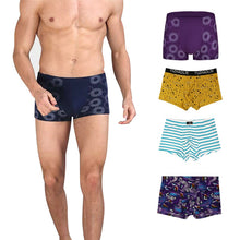 Load image into Gallery viewer, Sexy Men Boxer Soft Breathable Underwear Male Comfortable Solid Panties Underpants Cueca Boxershorts Homme For Men