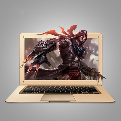 ZEUSLAP 14inch 4GB Ram+500GB HDD Windows 10 System Intel Quad Core Office Home Laptop Notebook Computer