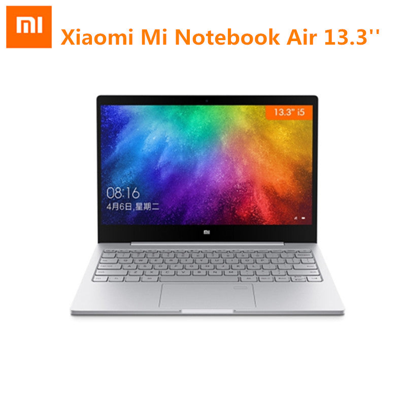 Xiaomi Mi Notebook Air 13.3 Windows 10 Intel Core I5-7200U Dual Core Laptop 2.5GHz 256G SSD Dedicated Card Dual WiFi Fingerprint