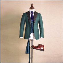 Load image into Gallery viewer, High-end Private Custom Woolen Suit Men's Luxury Personalized Custom