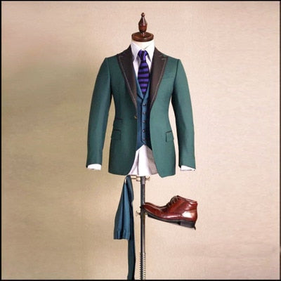 High-end Private Custom Woolen Suit Men's Luxury Personalized Custom