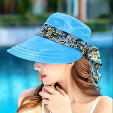 Load image into Gallery viewer, Women's Protective Hat Outdoor Sun Cap Sun Protection Neck Face Anti-UV Wide Brim Visor Summer Hot Sale