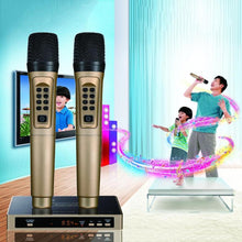 Load image into Gallery viewer, Smart Wireless Bluetooth Handheld Microphone KTV Mobile Player Speaker Record Music Party Meeting Player Top Quality Gifts