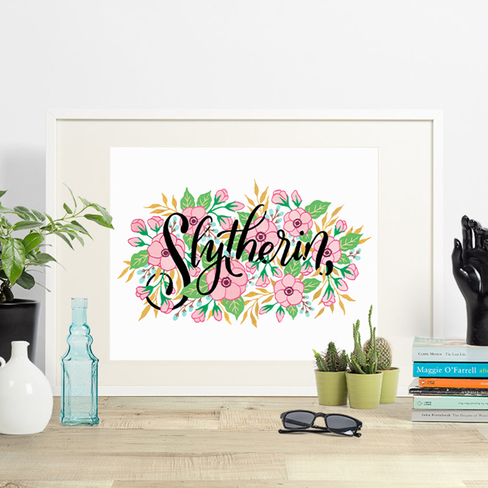 Slytherin - House Pride - Indigo Eleven Design