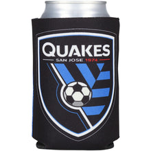 Load image into Gallery viewer, San Jose Earthquakes Slogan Can Cooler