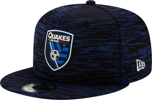 San Jose Earthquakes Men's  Onfield 950-Black Snapback