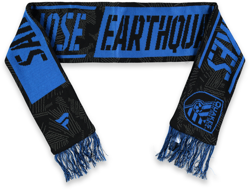 San Jose Quakes Iconic Defender Scarf