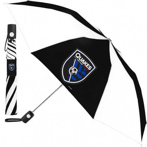 San Jose Earthquakes Auto Fold Umbrella