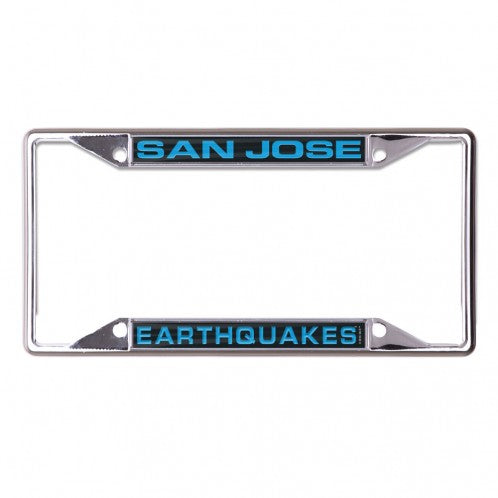 San Jose Earthquakes License Plate Frame