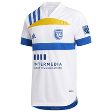 "Load image into Gallery viewer, SJE M Authentic ""408"" Secondary Jersey - 25th anniversary Wondolowski"