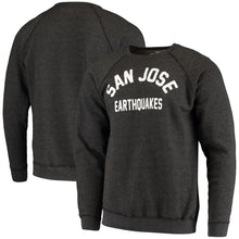 Load image into Gallery viewer, San Jose Earthquakes Men's Softee Wordmark Crew-Charcoal