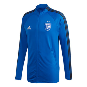 San Jose Earthquakes Men's Anthem Jacket Blue