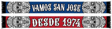 Load image into Gallery viewer, San Jose Earthquakes Vamos Scarf