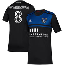 Load image into Gallery viewer, SJE W Replica Primary Jersey- Wondolowski