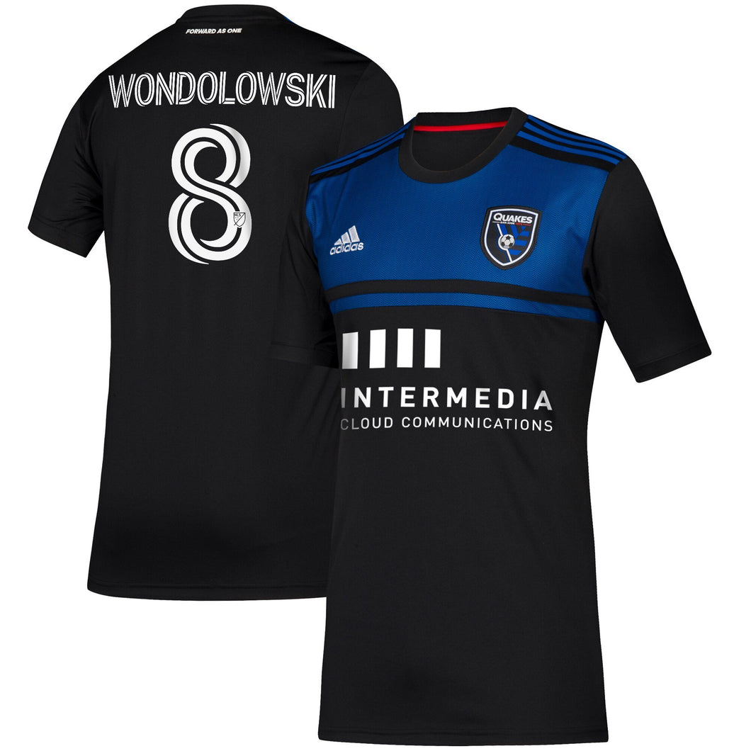 SJE W Replica Primary Jersey- Wondolowski