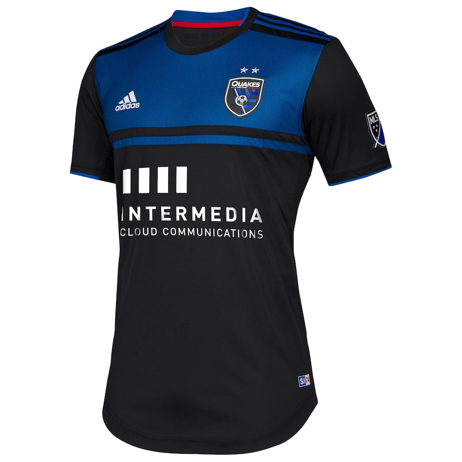 San Jose Earthquakes Men's Authentic Primary Jersey-Black