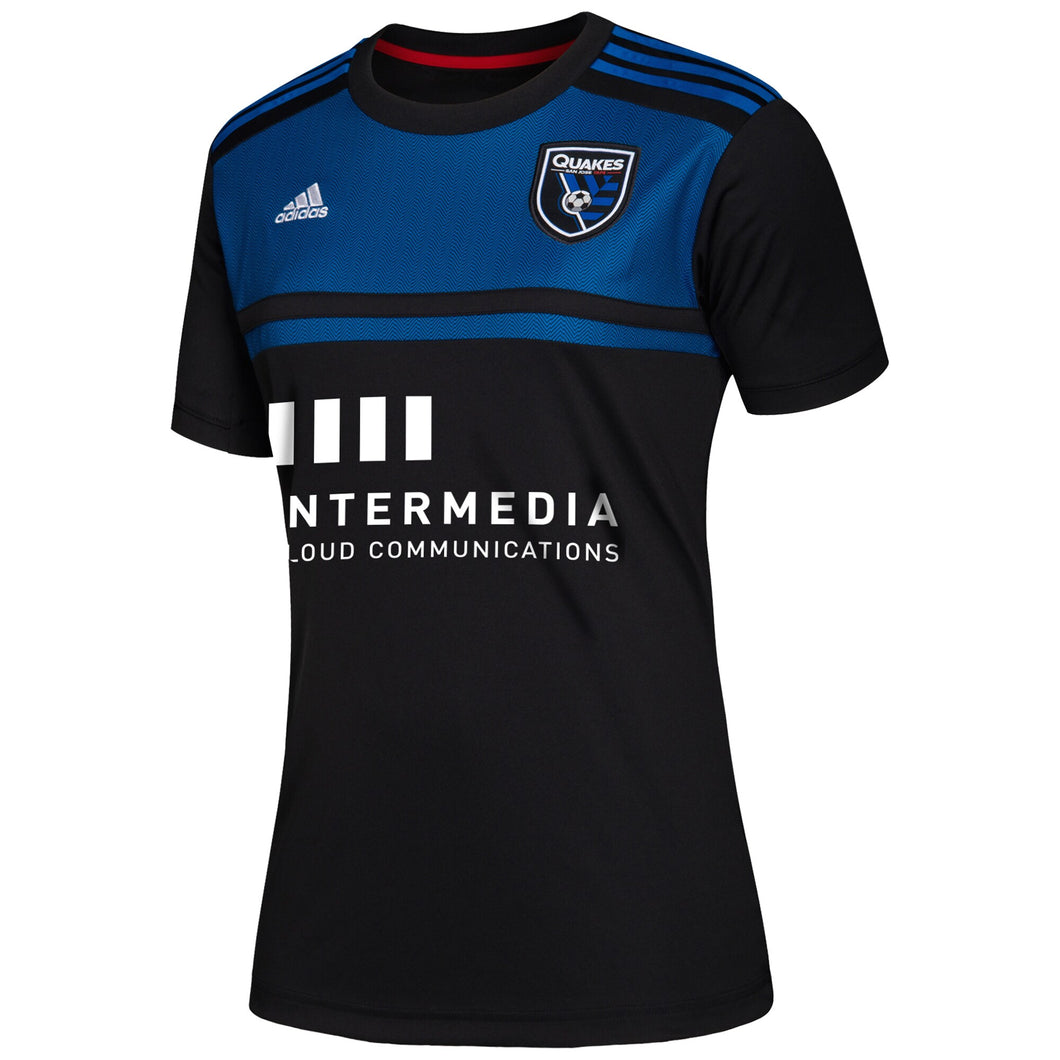 San Jose Earthquakes Women's Replica Primary Jersey Black
