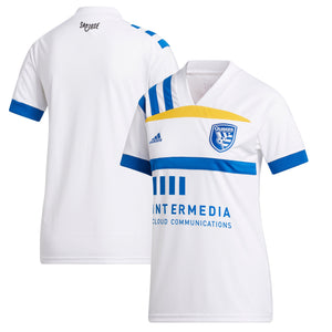 "SJE Women's Replica ""408"" Secondary Jersey White"
