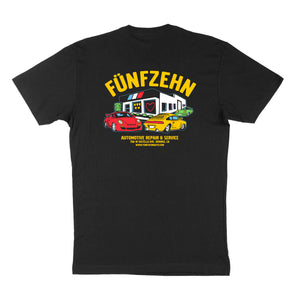 German Auto Shop T-Shirt - Black