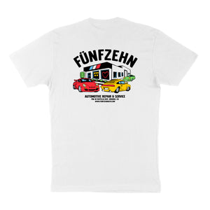 German Auto Shop T-Shirt - White