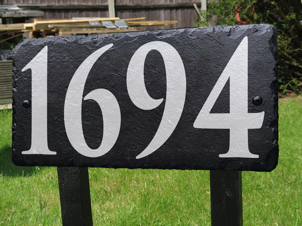 House Number Sign - Miracle Prints