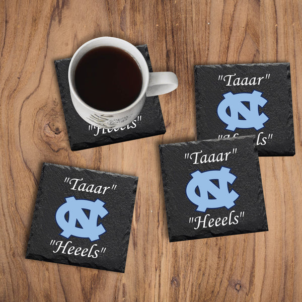 Carolina Tarheels Coasters - Miracle Prints