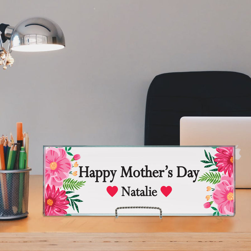 Mother's Day Gift For Mom Desk Name Plate - Miracle Prints