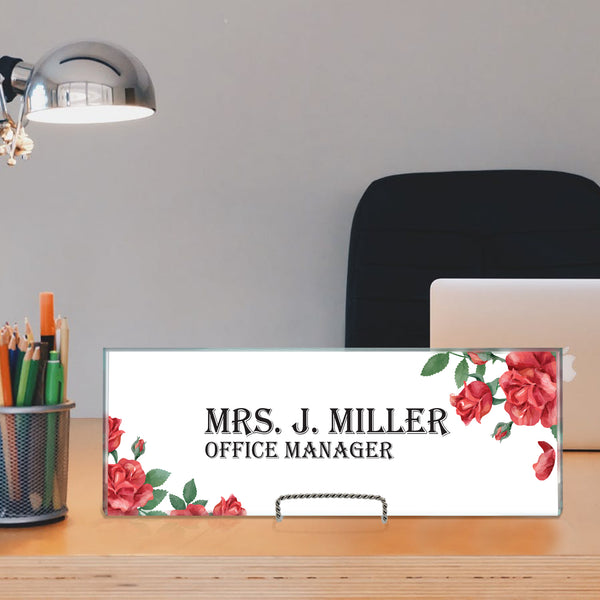 Office desk plate - Miracle Prints