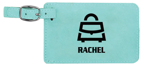 Leather Travel Tags. - Miracle Prints