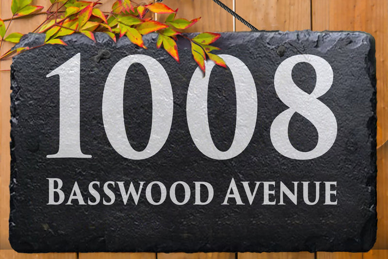 Home Address Sign - Miracle Prints