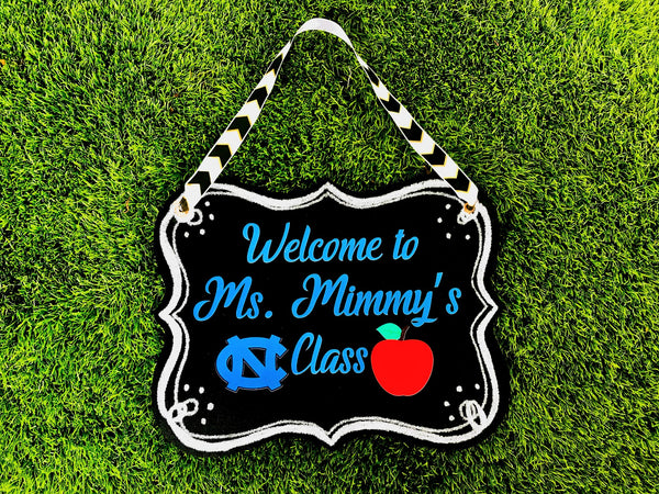 Personalized Teacher signs - Miracle Prints