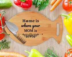 Personalized Christmas Chopping Board - Miracle Prints