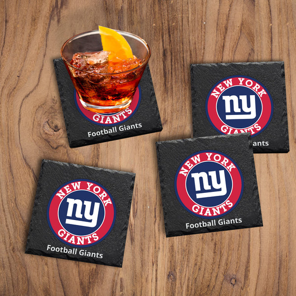 New York Giants Coasters - Miracle Prints