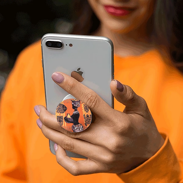 African Pop Sockets for Women - Miracle Prints