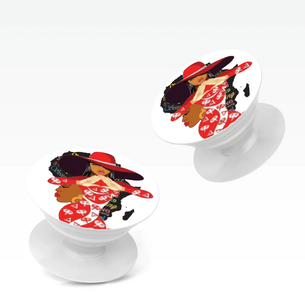 Stylish African Women Pop Sockets - Miracle Prints